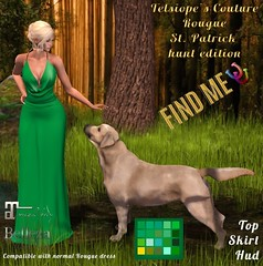 FabFree St. Patty's Day Hunt - Telsiope's Couture