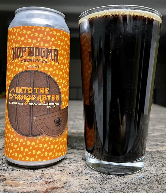 Hop Dogma Brewing  - Into the Orange Abyss (Milk Stout)