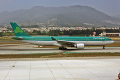 EI-EDY Airbus A.330-302 Aer Lingus Named St Munchin   Maincín AGP 05-06-12