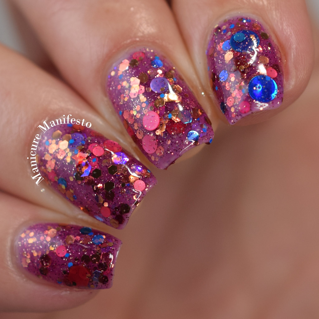 Reverie Nail Lacquer Harvest Moon Review