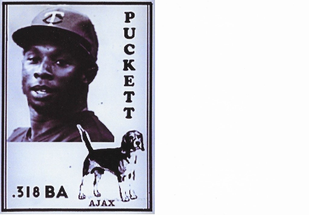 2020 Ajax Dog Food Retro Blank Back - Puckett, Kirby