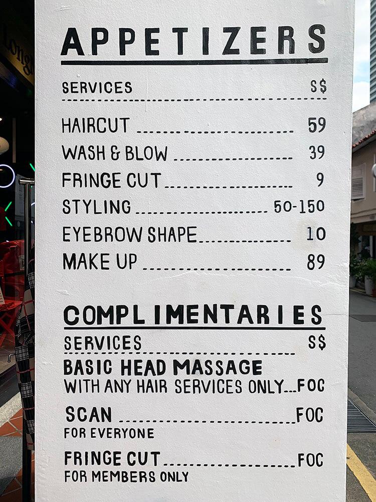 99 percent hair studio pricing