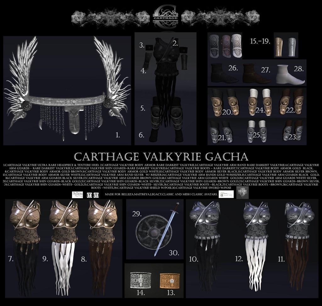 Carthage Valkyrie Gacha