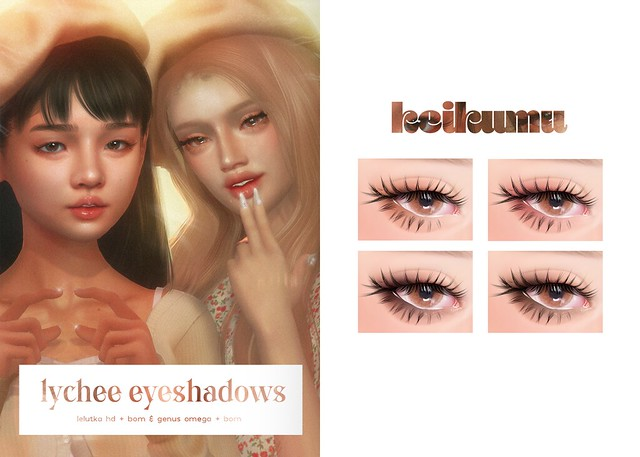 keikumu - lychee eyeshadows @ SCHOOL DAY SPRING