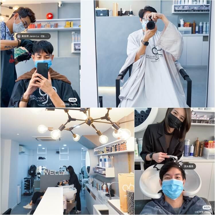 haircut and hair colouring at 99 percent hair studio