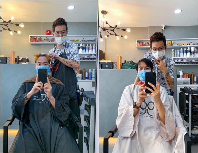 99 Percent Hair Studio at Haji Lane – Jaron