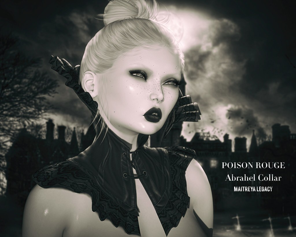 POISON ROUGE Abrahel Collar