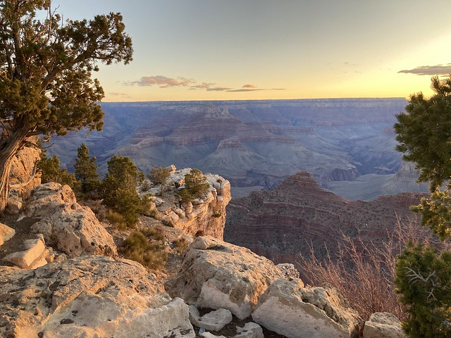 Sunrise Over the Grand Canyon 01