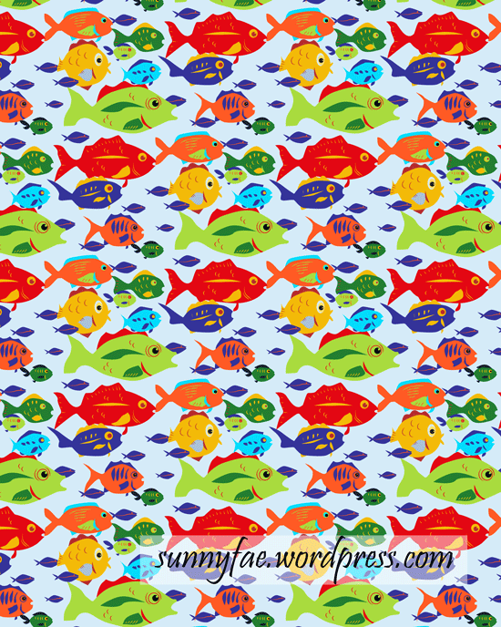 illustrator pattern from fish pattern fishes