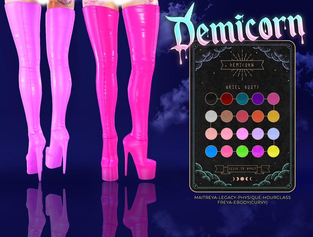 {Demicorn} Ariel Boots AD