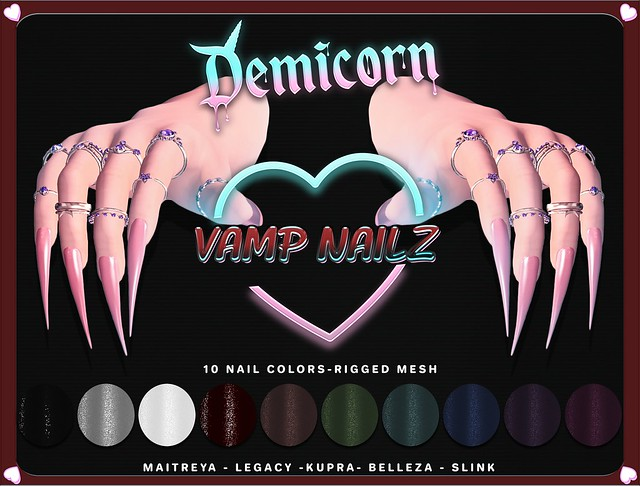 {Demicorn} VAMP NAILZ AD