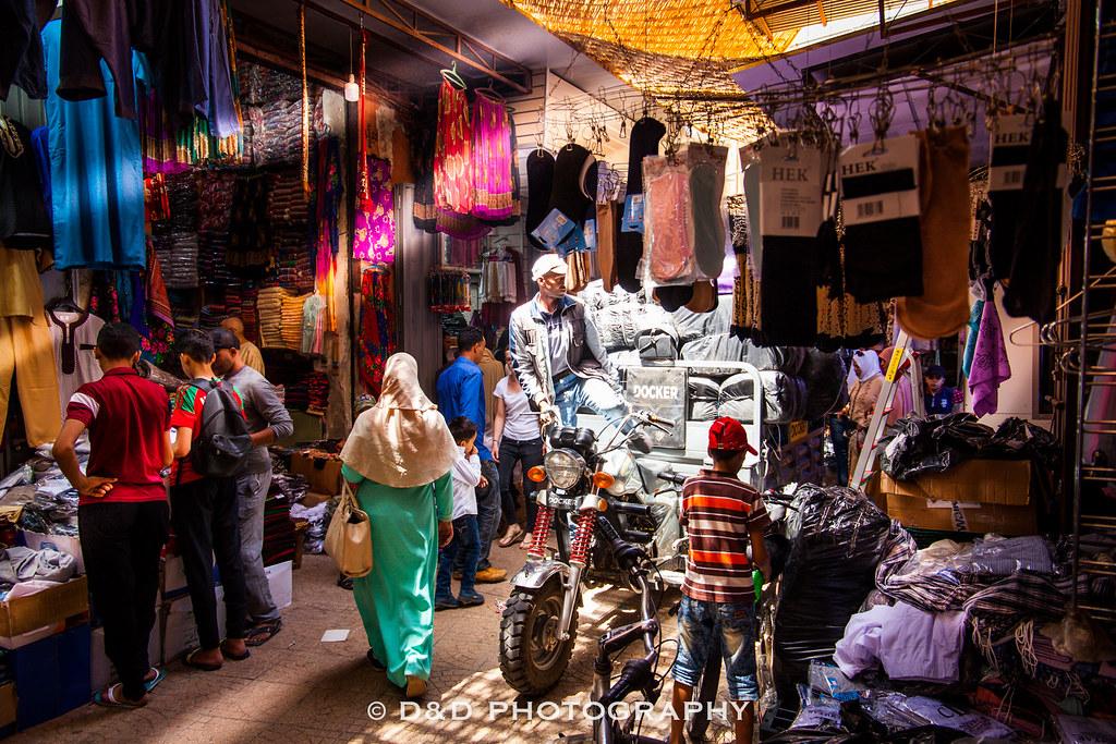The Souk of Marrakech