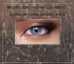 Tville - Magda Eyes *amethyst*