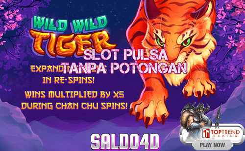 Judi Slot Wild Wild Tiger Top Trend Gaming SALDO4D