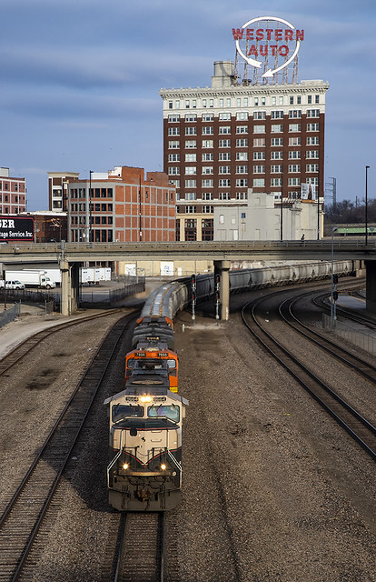 BNSF 9664 W G DAMETT5 07A Kansas City, MO