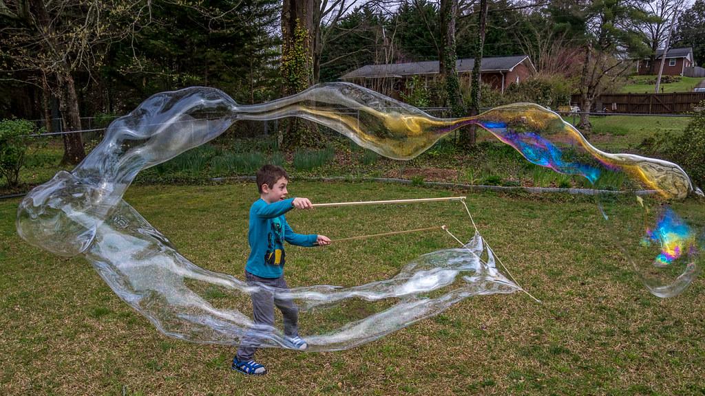 Making bubbles 3
