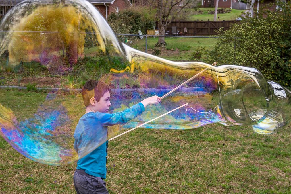 Making bubbles 1