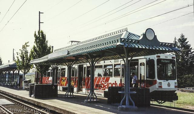 Tri-Met MAX light rail