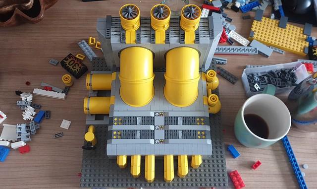 Duplonic pumping station