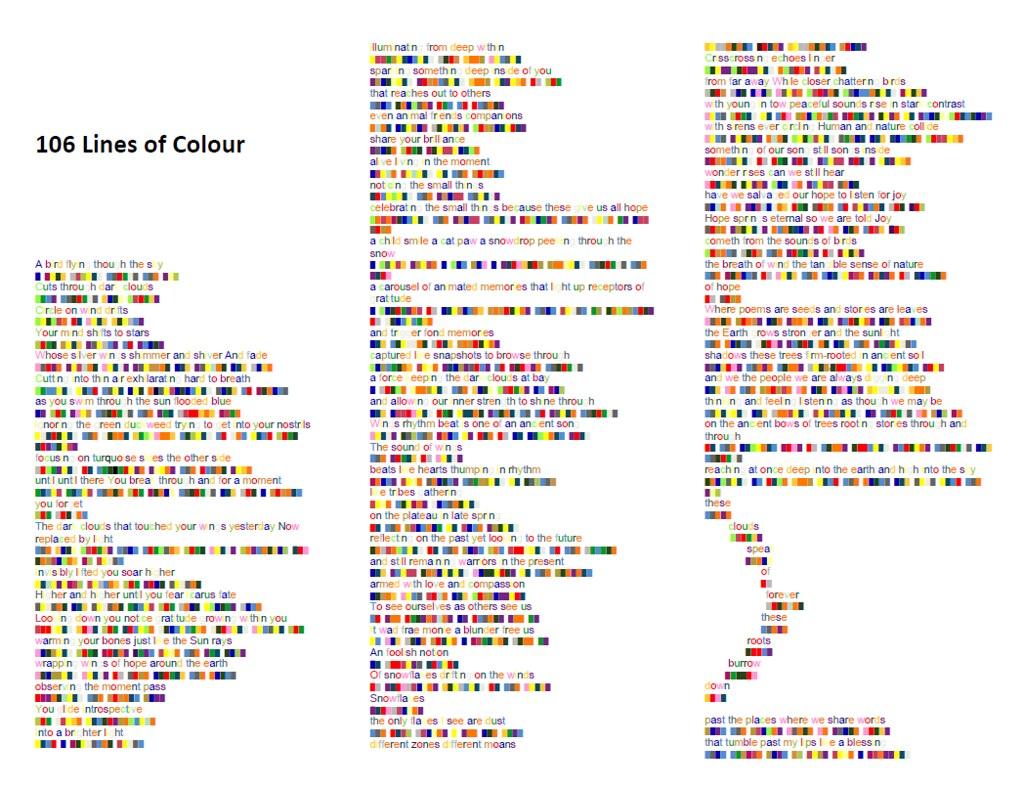 106 Lines trifold colour 1