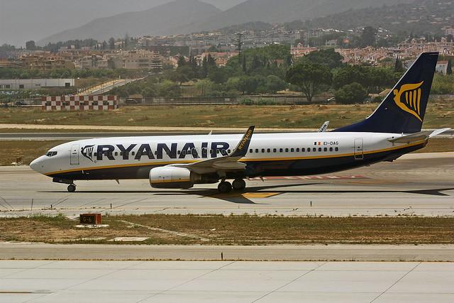 EI-DAG Boeing 737-8AS Ryanair AGP 05-06-12