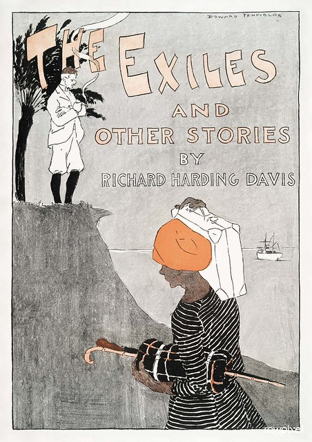 The Exiles and Other Stories by Richard Harding Davis (1894) print in high resolution by Edward Penfield. Original from The New York Public Library. Digitally enhanced by rawpixel.