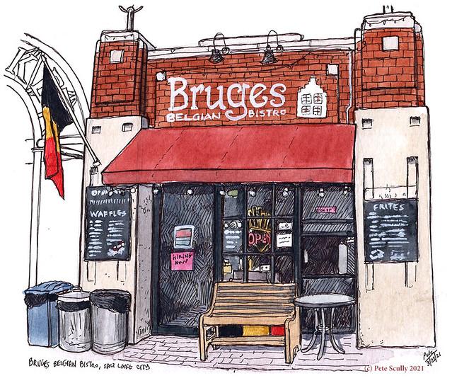 Bruges Belgian Bistro SLC