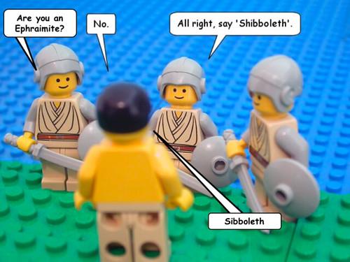 Shibboleth o chibolete, la fonética como santo y seña