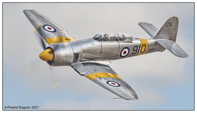 Hawker Sea Fury - Duxford 2018