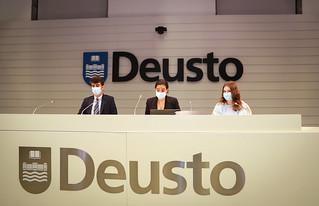 25/03/2021 - 27/03/2021 - Estudiantes de la Universidad de Deusto pasan examen a tres iniciativas parlamentarias relacionadas con la Juventud, la Formación Profesional y el Emprendimiento