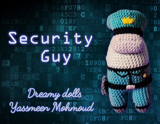 Security Guy Costume from Among Us Game.. the most priority is to keep us safe, Right? 😊
