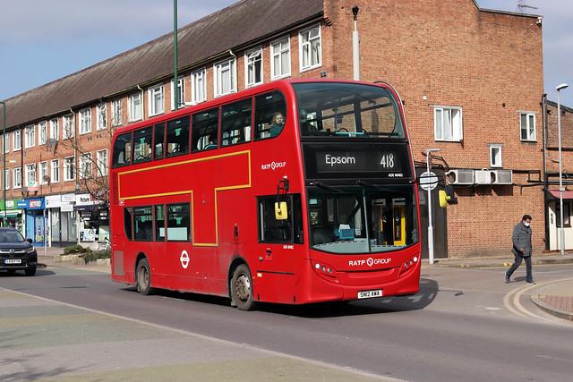Route 418, London United, ADE40482, SN12AWA