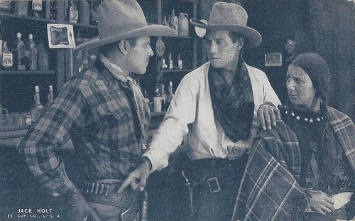 Jack Holt and Elliott Dexter in The Squaw Man (1918)