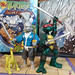 ANTARCTIC PRESS TOYS :: Stan Sakai's 'USAGI YOJIMBO' { Basic v. } ix ..w/ 2014 Original Comic Book Leonardo (( 1998 ))