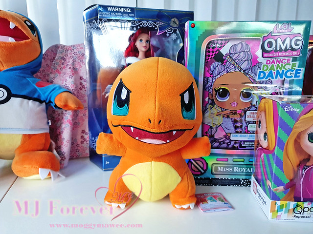 Angry Charmander Plush (Banpresto)