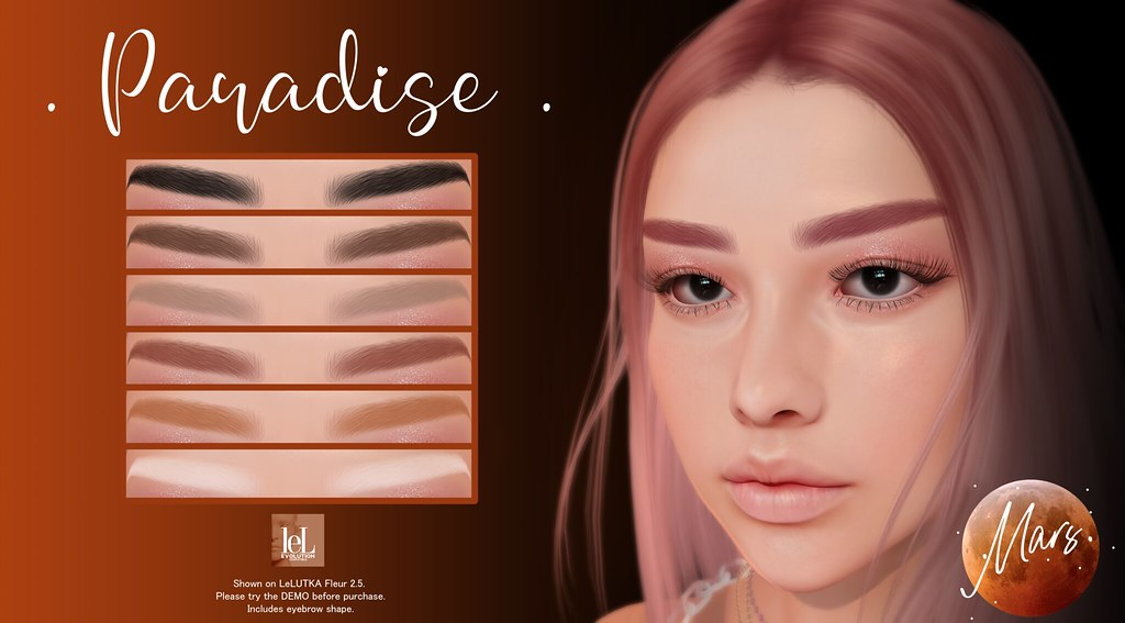 .Mars. - Paradise HD - LeLUTKA EVO Brows