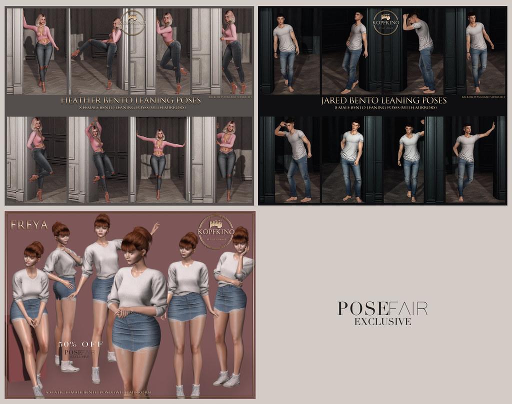 NEW - KOPFKINO for Pose Fair