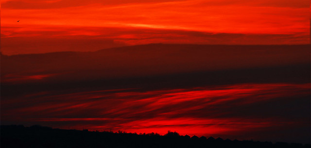 Sunset at Pensarn
