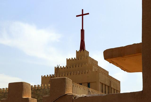 Happy Sunday ! / Cathedral of Saint Joseph, Ankawa, Erbil, Iraqi Kurdistan