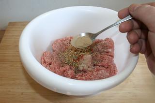 07 - Add more spices / Weitere Gewürze addieren
