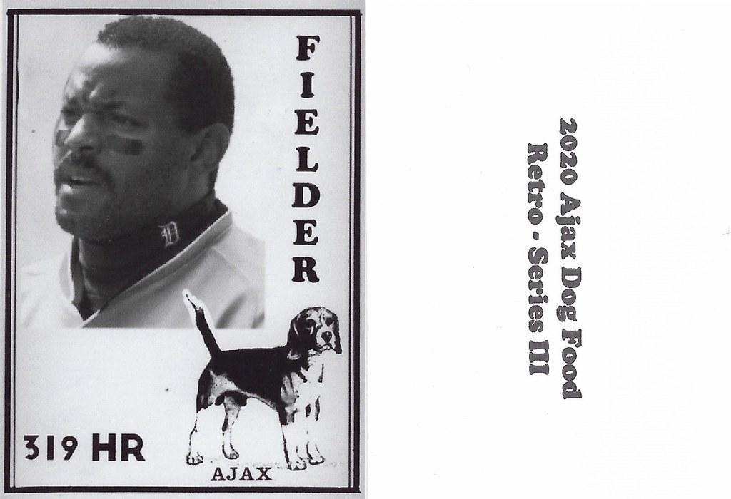 2020 Ajax Dog Food Retro Alt Back - Fielder, Cecil2