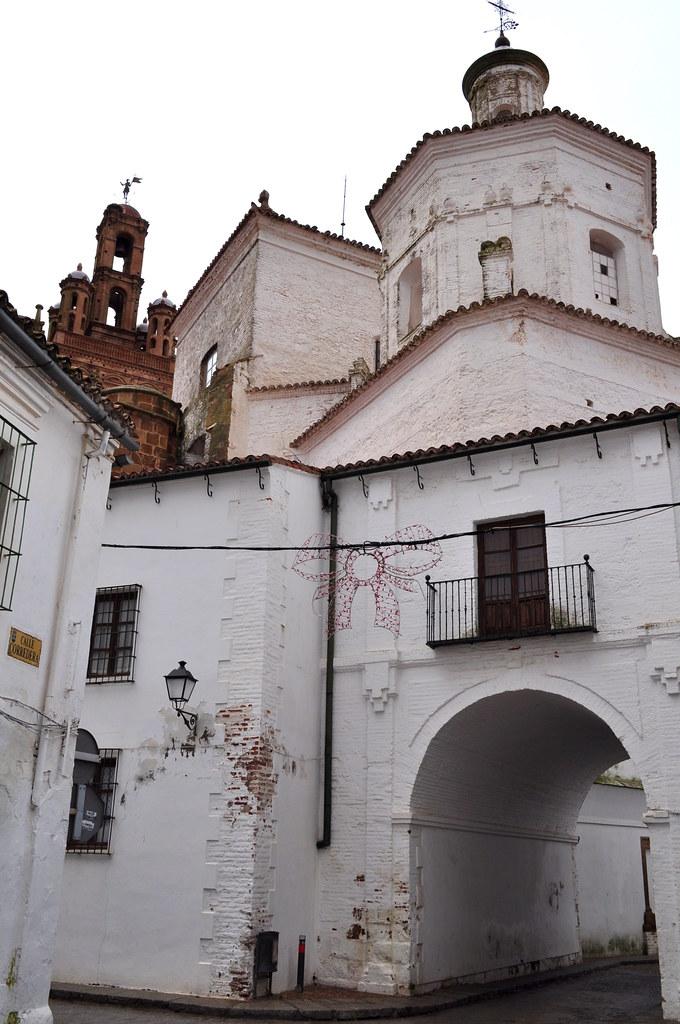 Eglise Nuestra Señora de la Granada, plaza de España, Llerena, province de Badajoz, Estrémadure, Espagne.