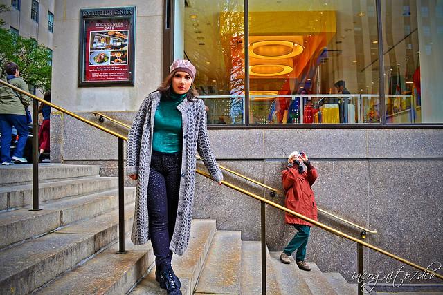 Me in Rockefeller Center Midtown Manhattan New York City NY P00824 DSC_1027