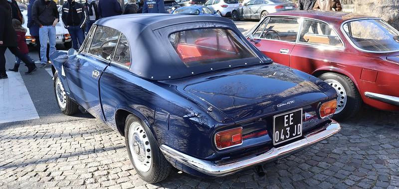 Alfa Romeo Giulia 1600 GTC tipo 10525 Touring  51012462223_209275c2b2_c