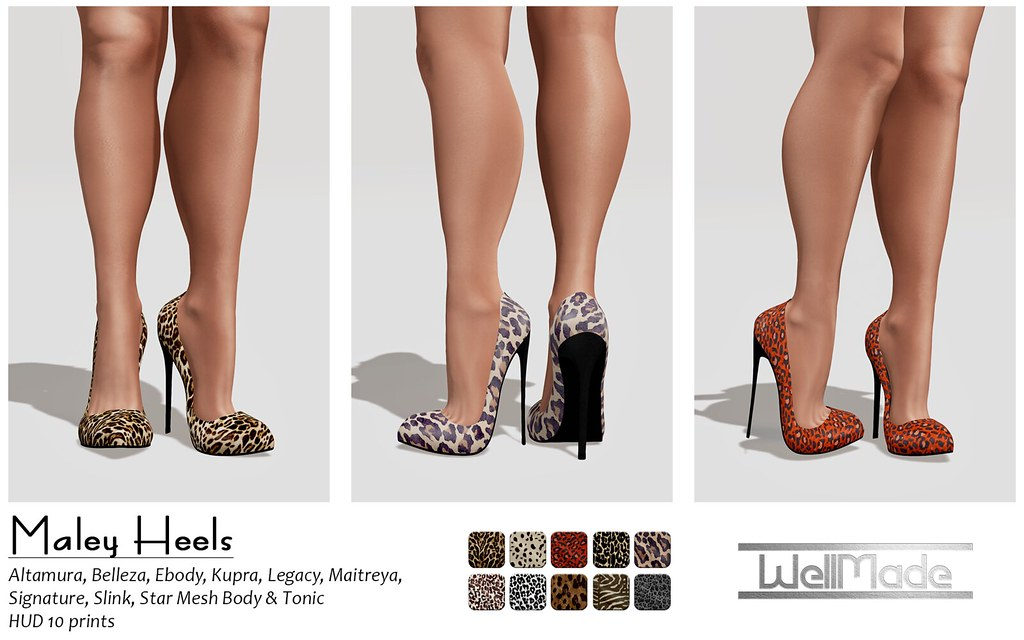 [WellMade] Maley Heels - Exclusive for Pretty