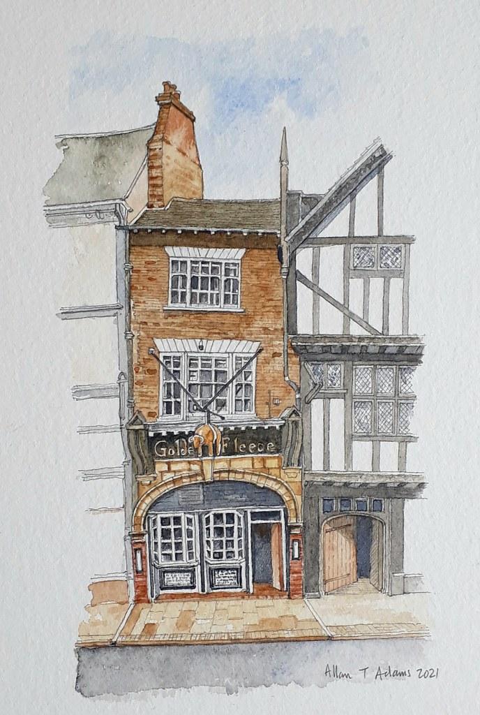The Golden Fleece, Pavement, York