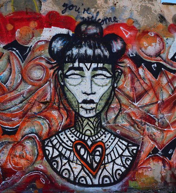 Tel Aviv Beach /  Street art / 3/5