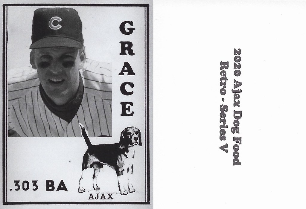 2020 Ajax Dog Food Retro Alt Back - Grace, Mark2