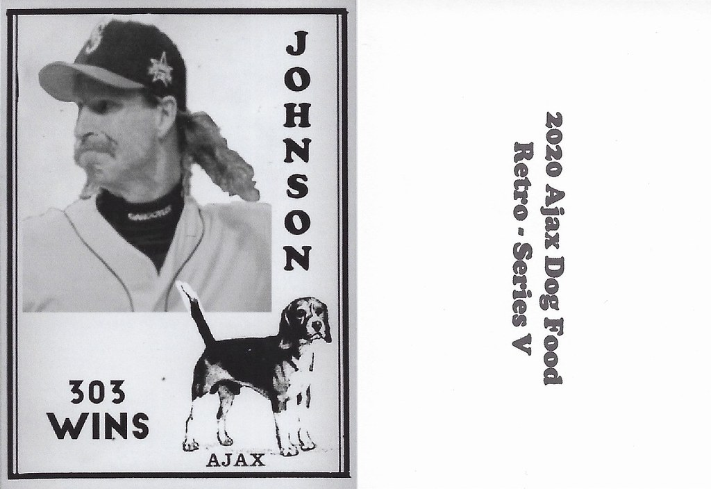 2020 Ajax Dog Food Retro Alt Back - Johnson, Randy2