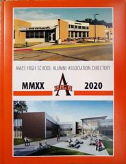 2020 Ames high School alumni association directory cover